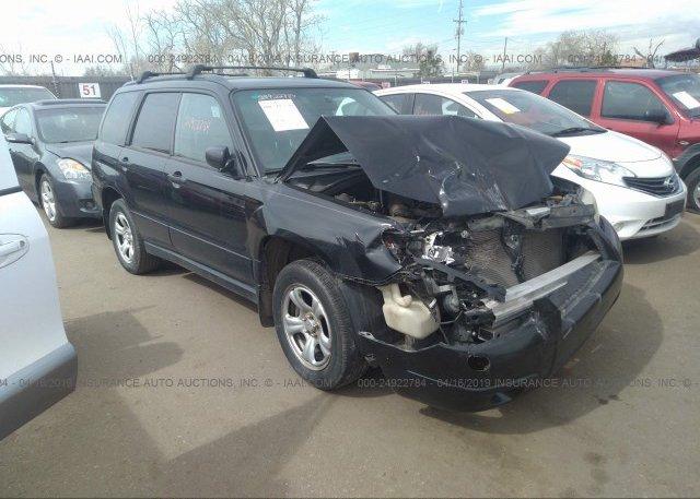 Inventory #490724826 2007 Subaru FORESTER