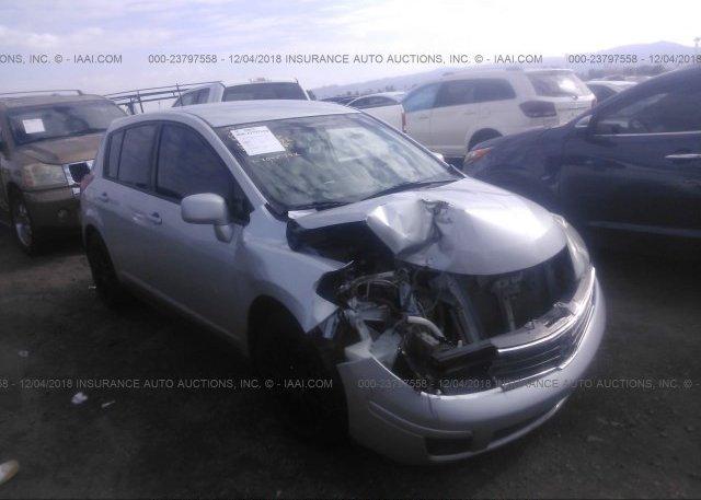 3n1bc1cp2al384935 Salvage Silver Nissan Versa At Phoenix Az On