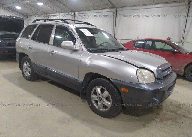 Inventory #847560375 2005 Hyundai SANTA FE