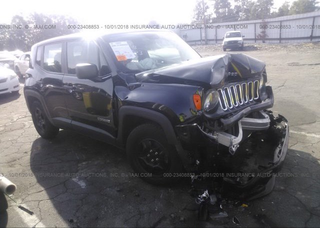 Inventory #540651978 2017 JEEP RENEGADE