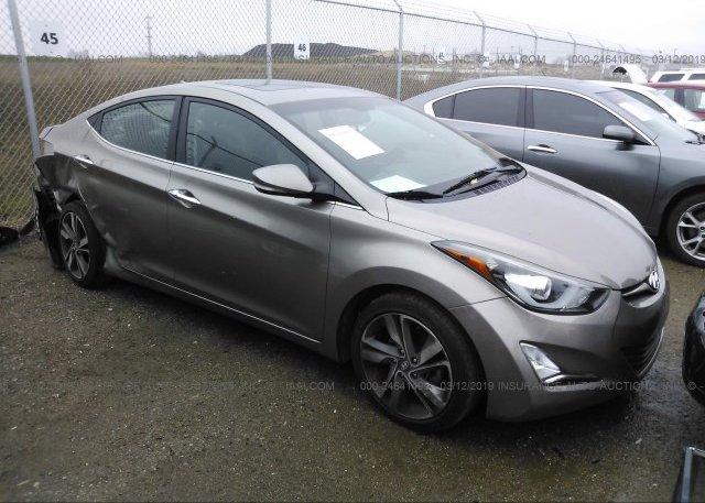 Inventory #302606309 2016 Hyundai ELANTRA