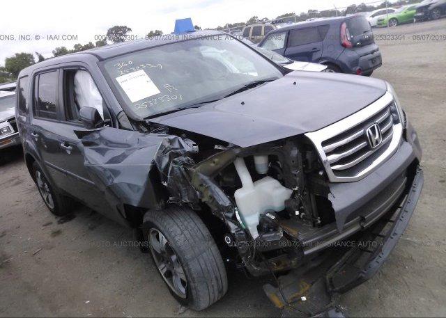 Inventory #313260202 2015 Honda PILOT