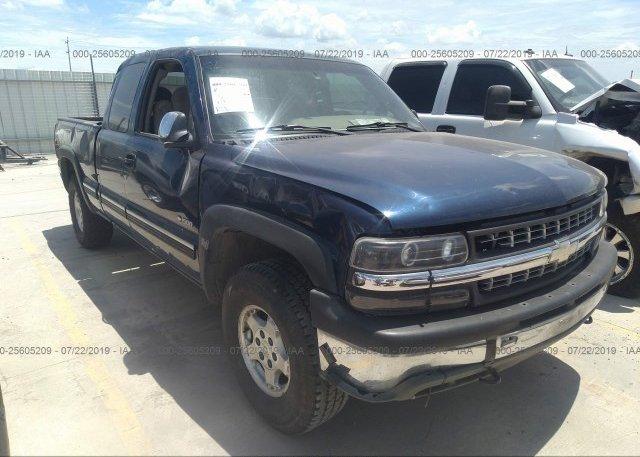 Inventory #391008030 2002 Chevrolet SILVERADO
