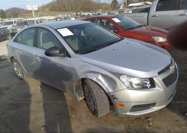Inventory #413662916 2012 Chevrolet CRUZE