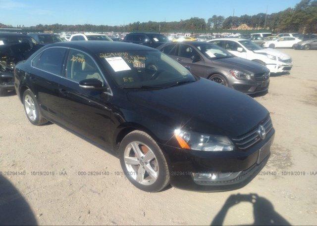 Inventory #876863533 2015 Volkswagen PASSAT