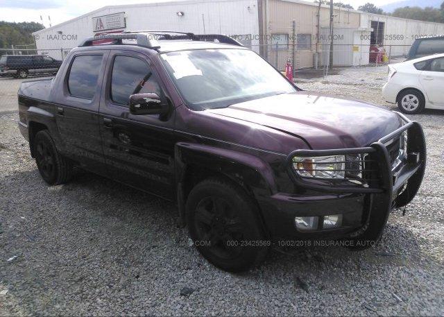 5fpyk16579b109440 Clear Purple Honda Ridgeline At Chattanooga Tn