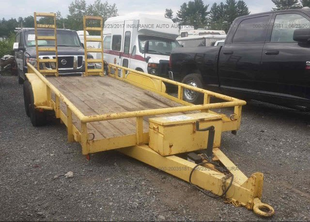 Inventory #522358122 1999 UTILITY TRAILER
