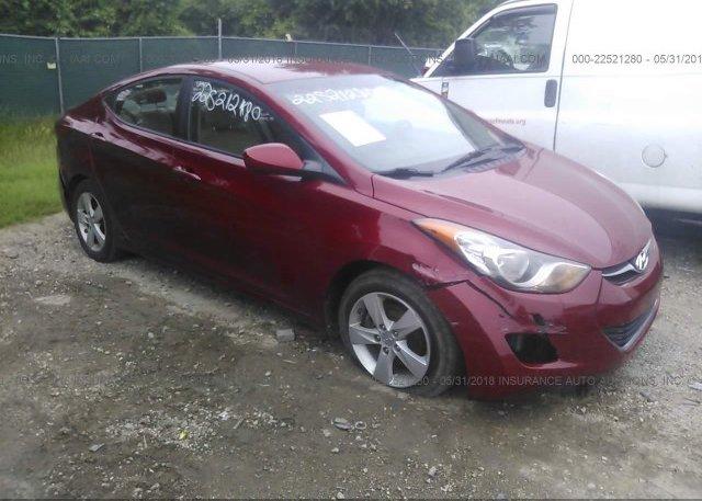 Inventory #235226460 2012 Hyundai ELANTRA