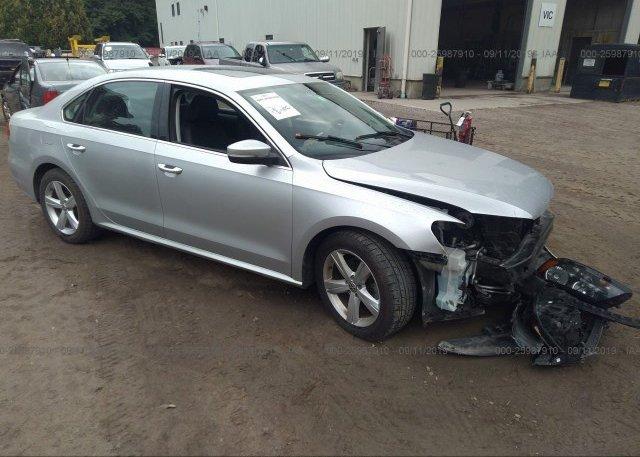 Inventory #222306471 2013 Volkswagen PASSAT