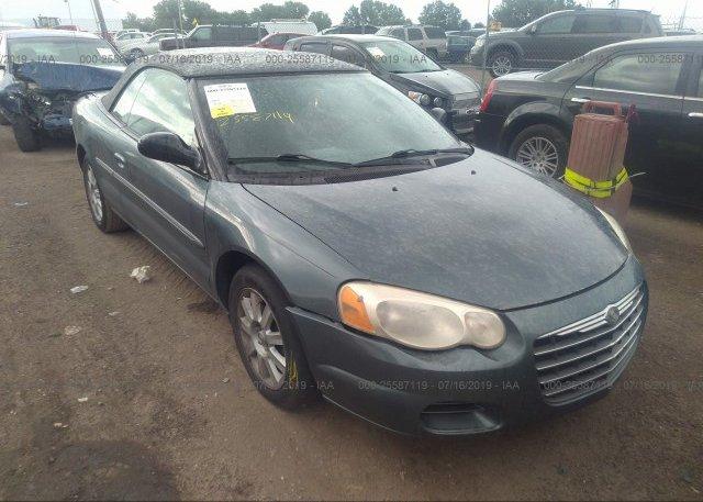 Inventory #669476399 2006 Chrysler SEBRING