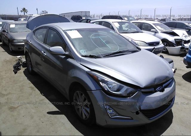 Inventory #210405604 2014 Hyundai ELANTRA