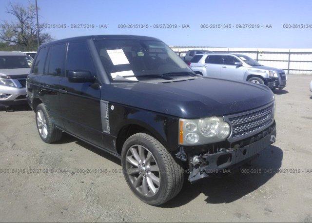 Inventory #883019627 2008 Land Rover RANGE ROVER