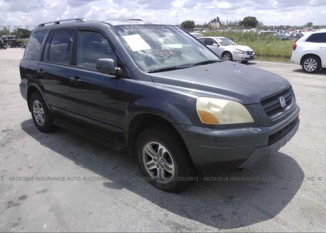 Inventory #654550806 2003 Honda PILOT