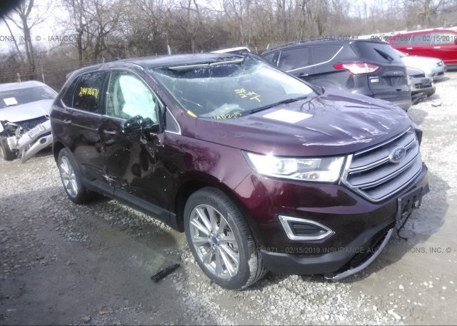 Inventory #592078084 2017 FORD EDGE