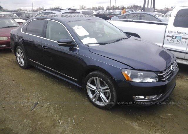 Inventory #582799323 2015 Volkswagen PASSAT