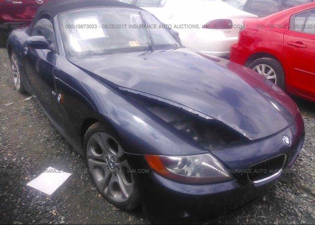 Inventory #800510086 2003 BMW Z4