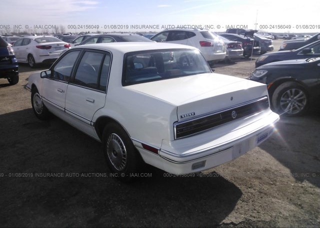 1G4NV54N4MM222870 Salvage Title White Buick Skylark At WILMER TX