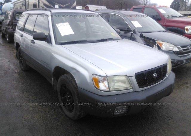 Inventory #990829624 2002 Subaru FORESTER