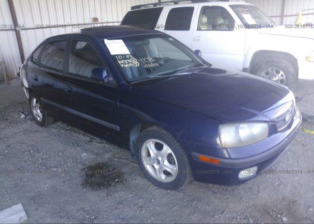 Inventory #344620585 2002 Hyundai ELANTRA