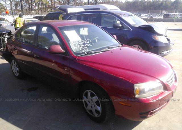 Inventory #389293515 2006 Hyundai ELANTRA