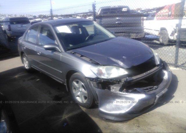 Inventory #891430013 2005 Honda CIVIC