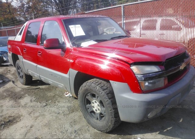 Inventory #722875148 2002 Chevrolet AVALANCHE