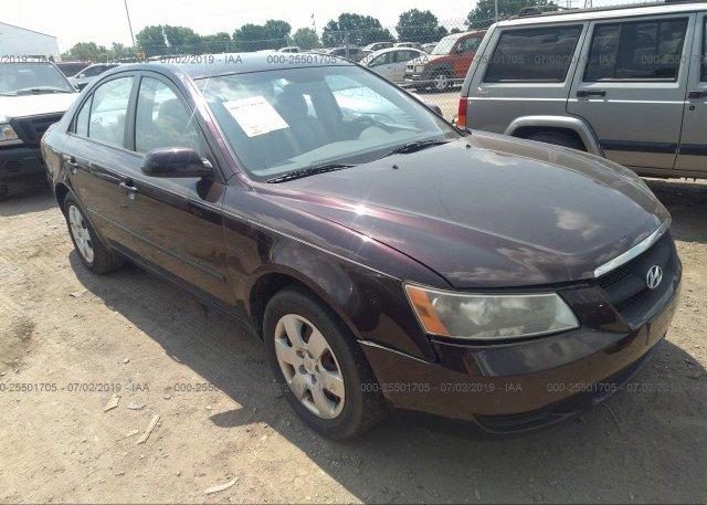 Inventory #827860475 2006 Hyundai SONATA