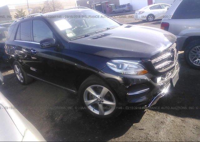 Inventory #511416031 2016 Mercedes-benz GLE