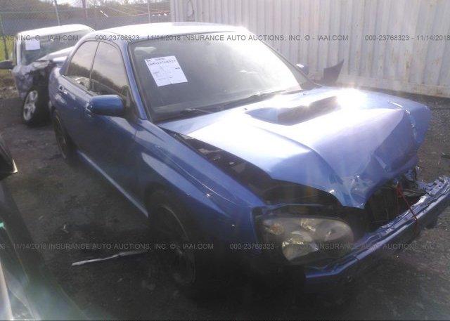 Inventory #746782828 2005 Subaru IMPREZA