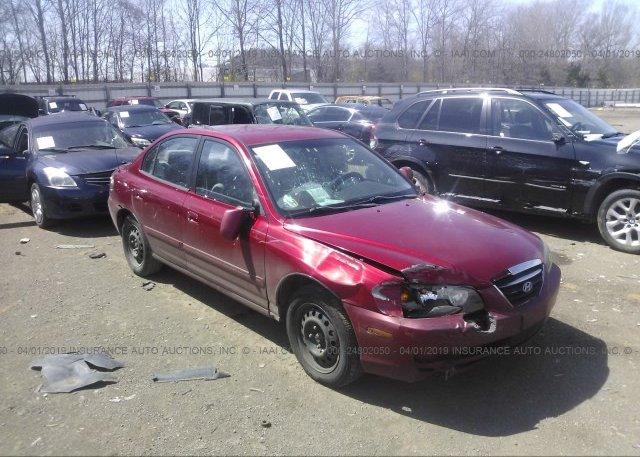 Inventory #798865625 2004 Hyundai ELANTRA