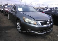 2008 Honda ACCORD - 1HGCP36788A063952 Left View
