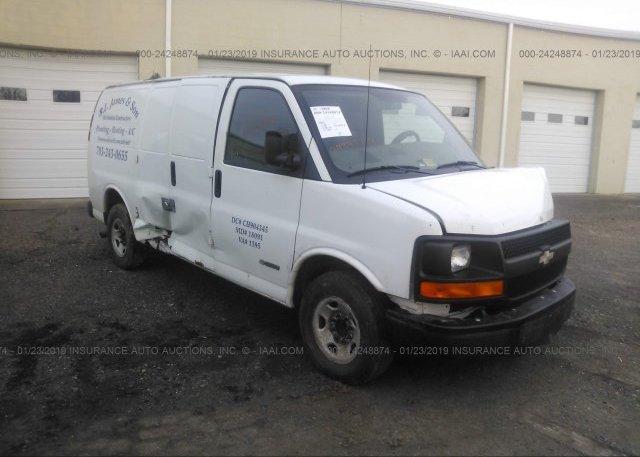 Inventory #367808011 2004 Chevrolet EXPRESS G2500