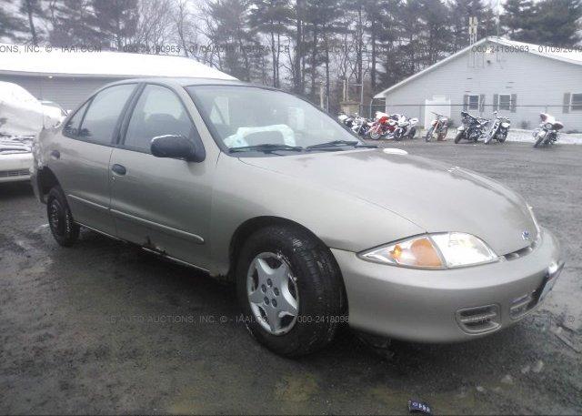 Inventory #318962959 2002 Chevrolet CAVALIER