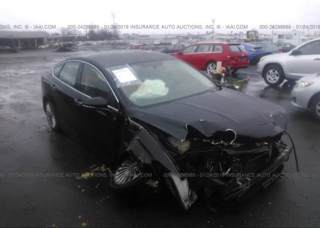 Black Ford Fusion >> 3fa6p0k93gr399133 Salvage Black Ford Fusion At