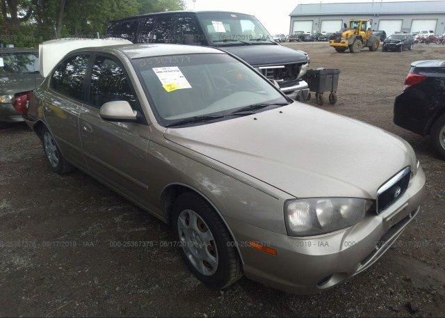 Inventory #913331160 2003 Hyundai ELANTRA