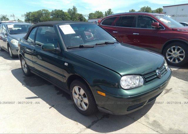 Inventory #279500585 2001 Volkswagen CABRIO