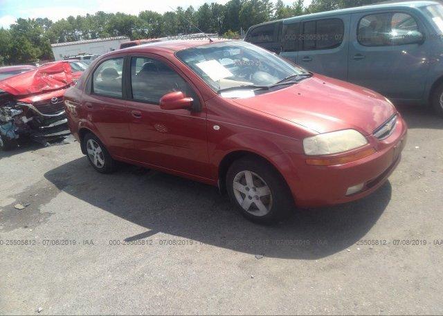Inventory #411138213 2005 Chevrolet AVEO
