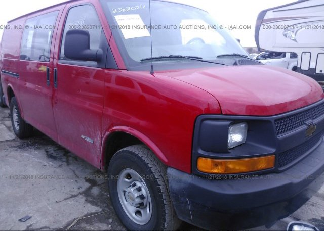 Inventory #516692101 2005 Chevrolet EXPRESS G3500