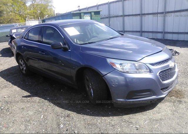 Inventory #804060411 2014 Chevrolet MALIBU