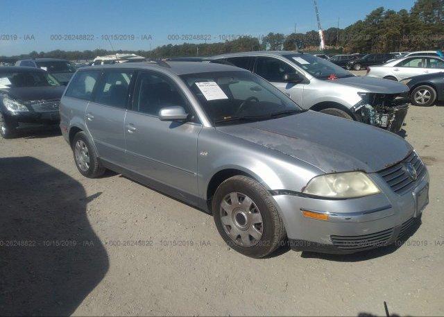 Inventory #354152170 2003 Volkswagen PASSAT