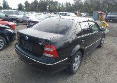 2005 Volkswagen JETTA - 3VWSE69M85M061584 rear view
