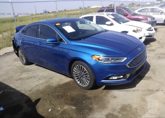 Inventory #634436718 2017 FORD FUSION