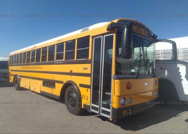 Inventory #859938271 2001 THOMAS SCHOOL BUS