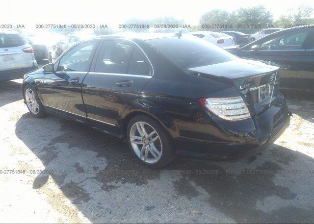 купить 2013 Mercedes-benz C-CLASS WDDGF4HB2DR241382
