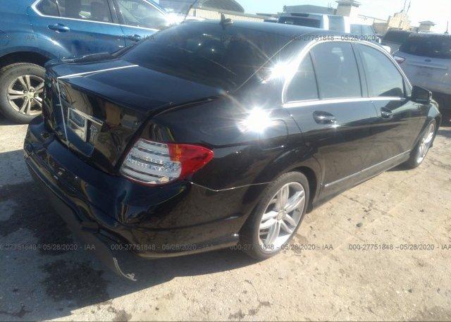 цена в сша 2013 Mercedes-benz C-CLASS WDDGF4HB2DR241382