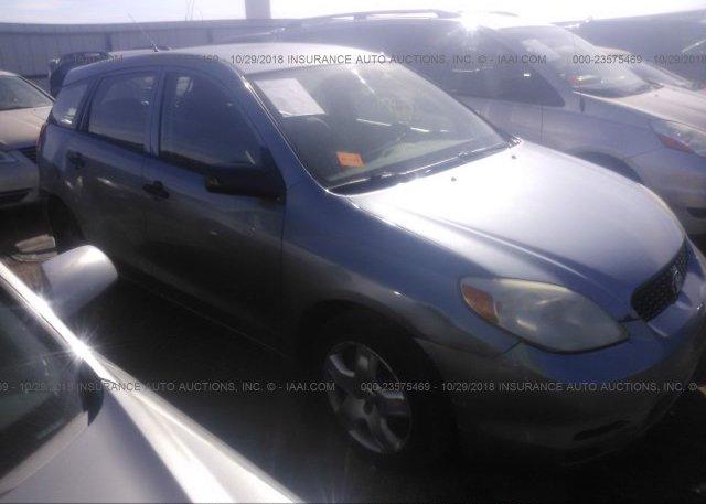 Inventory #117735672 2003 Toyota COROLLA MATRIX