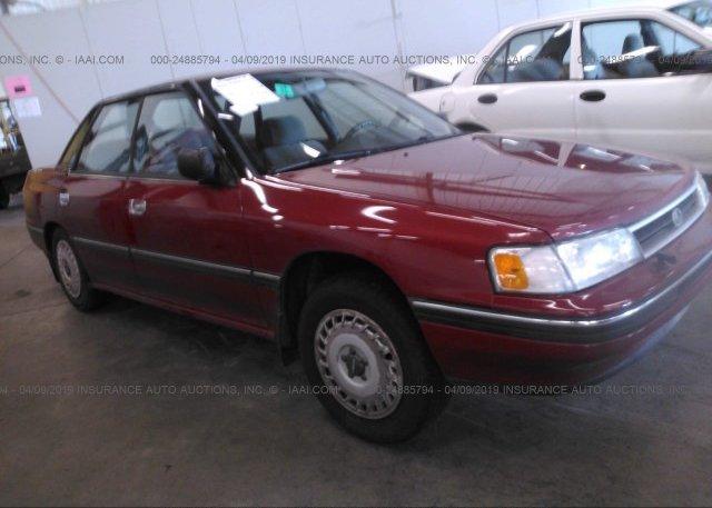 Inventory #136665459 1991 Subaru LEGACY