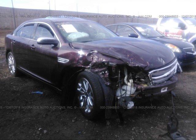 1fahp2fw8bg134129 Salvage Burgundy Ford Taurus At Phoenix Az On