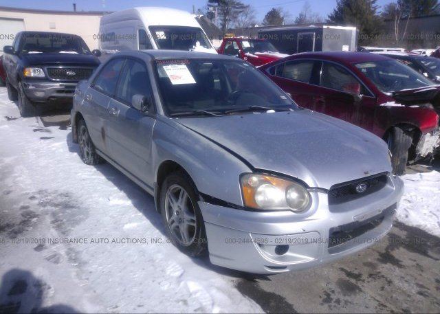 Inventory #627798018 2004 Subaru IMPREZA