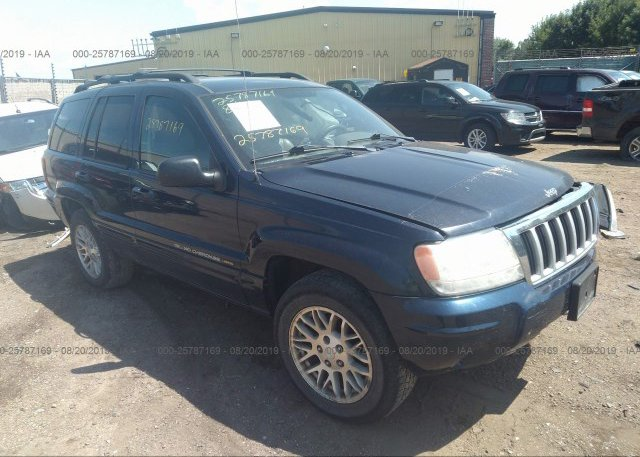 Inventory #895764456 2004 JEEP GRAND CHEROKEE